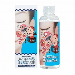 Пілінг-тонер Elizavecca Hell-Pore Clean Up AHA Fruit Toner 200ml