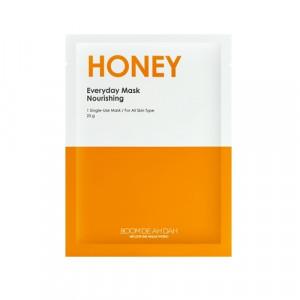 Живильна щоденна маска для обличчя з екстрактом меду BOOMDEAHDAH Everyday Mask Honey 25g