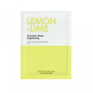 Освітлююча щоденна маска для обличчя з екстрактами лайму і лимону BOOMDEAHDAH Everyday Mask Lemon-Lime 25g