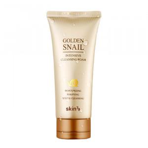 Пінка для вмивання з муцином равлика Skin79 Golden Snail Intensive Cleansing Foam 125ml