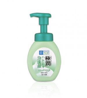 Лікувальная пінка для проблемної шкіри HADA LABO Gokujyun Hatomugi Foaming Face Wash 160ml