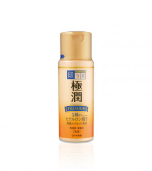 Преміум гіалуронове молочко HADA LABO Gokujyun PREMIUM Hyaluronic Acid Milk 140ml
