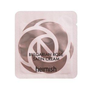 Пробник живильного крему з екстрактом болгарської троянди HEIMISH Bulgarian Rose Satin Cream 1.5ml