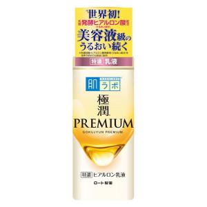 Преміум гіалуронове молочко HADA LABO Gokujyun PREMIUM Hyaluronic Acid Milk 140ml (Термін придатності: до 28.02.2022)