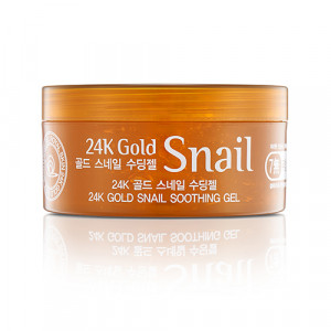Гель з муцином равлика та золотом ROYAL SKIN 24K Gold Snail Soothing Gel 300ml