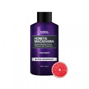 "Маска-Кондиціонер для волосся ""Рожевий грейпфрут"" KUNDAL Honey & Macadamia Treatment Pink Grapefruit 100ml"