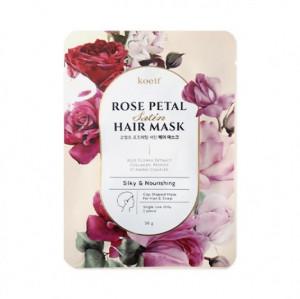 Живильна маска-шапочка для волосся KOELF Rose Petal Satin Hair Mask 30g