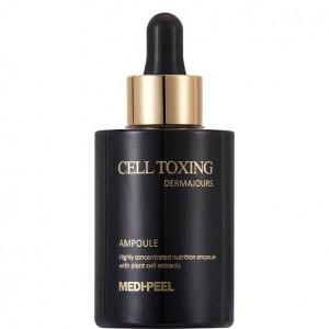 Антивікова ампульна сироватка зі стовбуровими клітинами MEDI-PEEL Cell Toxing Dermajours Ampoule 100ml