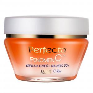 Ліфтинг-крем для обличчя для віку 50+ PERFECTA Fenomen C Cream Day and Night 50+ 50ml