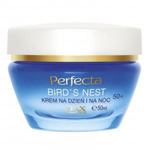 Крем для обличчя проти зморшок для віку 50+ PERFECTA Bird's Nest Cream Day and Night 50+ 50ml