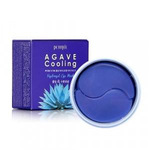 Гідрогелеві охолоджуючі патчі для очей з екстрактом агави PETITFEE Agave Cooling Hydrogel Eye Mask 60шт