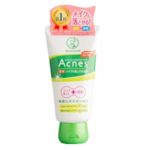 Лікувальний крем-гель для вмивання + засіб для зняття макіяжу Mentholatum Acnes Medicated Makeup Remover 130g