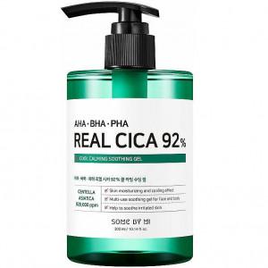 Заспокійливий гель з центелою азіатською і кислотами SOME BY MI AHA.BHA.PHA Real Cica 92% Cool Calming Soothing Gel 300ml