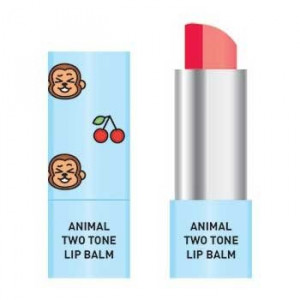 Двокольорова бальзам для губ Skin79 Animal Two-Tone Lip Balm Cherry Monkey 3.8g