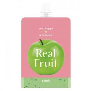 "Живильний гель ""Зелене яблуко"" Skin79 Real Fruit Soothing Gel Green 300g"