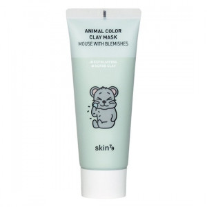 Очищуюча глиняна маска для обличчя Skin79 Animal Color Clay Mask Mouse With Blemishes 70ml (Термін придатності: до 11.06.2021)