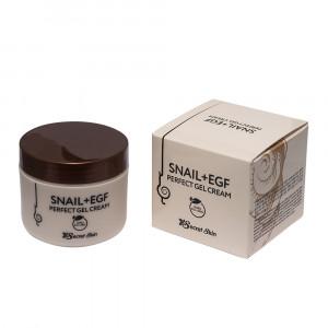 Крем-гель для обличчя з муцином равлика Secret Skin Snail + EGF Perfect Gel Cream 50g