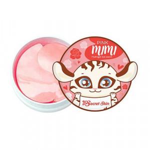 Гідрогелеві патчі для очей з дамаською трояндою Secret Skin Pink Mimi Hydrogel Eye Patch 60шт