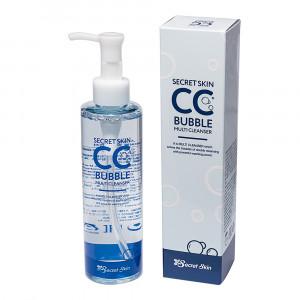 Очищаюча мікропіна для зняття макіяжу Secret Skin CC Bubble Multi Cleanser 210g