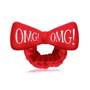 Косметична пов'язка для волосся Double Dare OMG! Red Hair Band (червона)