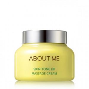 Масажний крем для обличчя вирівнюючий тон ABOUT ME Skin Tone Up Massage Cream 150ml