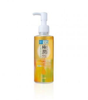 Гідрофільна олія з гіалуроновою кислотою HADA LABO Gokujyun Cleansing Oil 200ml