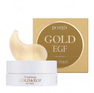 Гідрогелеві патчі для очей з золотом і EGF - PETITFEE Premium Gold & EGF Eye Patch - 60шт