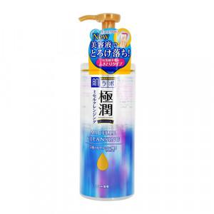 Міцеллярна вода для вмивання з гіалуроновою кислотою Hada Labo Gokujyun Premium Hyaluronic Acid Micelle Cleansing 330ml (Термін придатності: до 31.08.2021)
