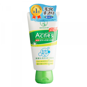 Лікувальний крем-скраб для обличчя против акне Mentholatum Acnes Medicated Scrub 130g