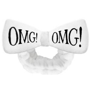 Косметична пов'язка для волосся Double Dare OMG! White Hair Band (біла)