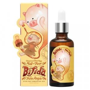 Антивікова сироватка для обличчя c біфідобактеріями Elizavecca Witch Piggy Hell-Pore Bifida Pure Ample 100% 50ml