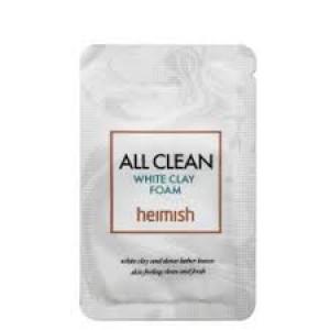 Пробник очищаючої пінки з білою глиною HEIMISH All Clean White Clay Foam 2ml