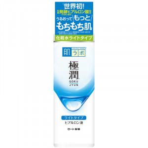 УЦІНКА! Гіалуроновий легкий лосьйон-гідратор HadaLabo GOKUJYUN Hydrating Lotion (Light Type) 170ml (Термін придатності: до 30.04.2022)