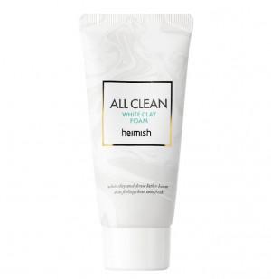 Очищаюча пінка з білою глиною HEIMISH All Clean White Clay Foam 30ml