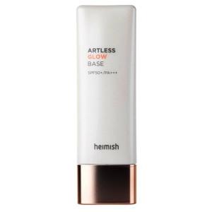 База під макіяж з сяючим ефектом HEIMISH Artless Perfect Glow Base SPF50+ PA++++ 40ml
