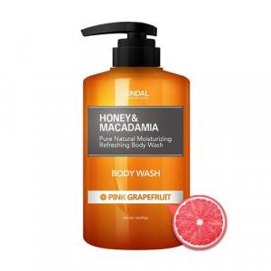 "Гель для душу ""Рожевий грейпфрут"" KUNDAL Honey & Macadamia Body Wash Pink Grapefruit 500ml"