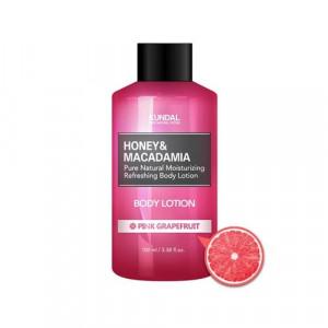 """Лосьйон для тіла """"Рожевий грейпфрут"""" KUNDAL Honey & Macadamia Body Lotion Pink Grapefruit 100ml"""