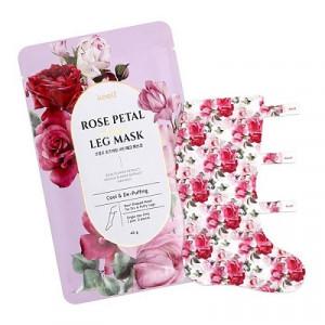 Протинабрякова маска-панчохи KOELF Rose Petal Satin Leg Mask 40g