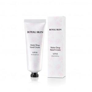 Зволожуючий крем для шкіри рук ROYAL SKIN Water Drop Hand Cream Lotus 60ml