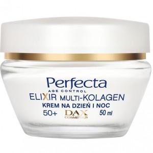 Зміцнюючий ліфтинг-крем для обличчя для віку 50+ PERFECTA Elixir Multi-Collagen Cream Lifting 50+ 50ml