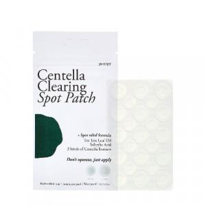 Точкові патчі від запалень з екстрактом центелли азіатської PETITFEE Centella Clearing Spot Patch 23 шт. 6g (10мм x 8шт. + 12мм x 15шт.)