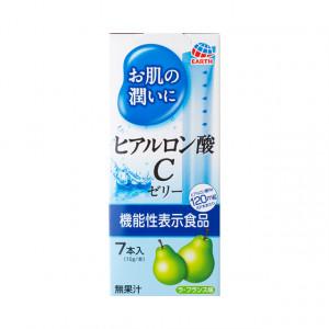 Японська питна гіалуронова кислота у формі желе зі смаком груші Earth Hyaluronic Acid C Jelly 70g (на 7 днів) (Термін придатності: до 30.11.2021)
