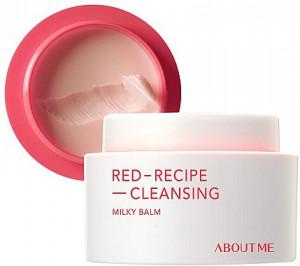 Очищаючий бальзам для обличчя ABOUT ME Red Recipe Cleansing Milky Balm 90ml