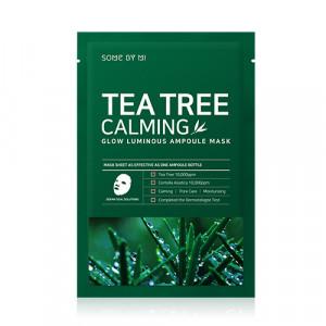 Заспокійлива ампульна маска з чайним деревом SOME BY MI Tea Tree Calming Glow Luminous Ampoule Mask 25g х 10шт.