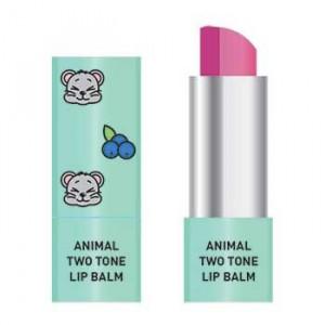 Двокольоровий бальзам для губ Skin79 Animal Two-Tone Lip Balm Blueberry Mouse 3.8g