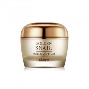 Крем для обличчя з золотом і муцином равлика Skin79 Golden Snail Intensive Cream 50ml