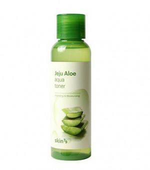Зволожуючий тонер для обличчя з екстрактом алое Skin79 Jeju Aloe Aqua Toner 150ml