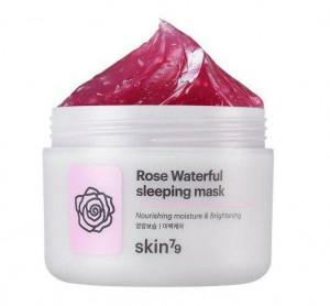 Нічна маска для обличчя Skin79 Rose Waterful Sleeping Mask 100g