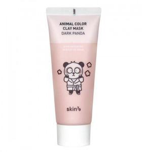 Освітлююча глиняна маска для обличчя Skin79 Animal Color Clay Mask Dark Panda 70ml (Термін придатності: 11.06.2021)