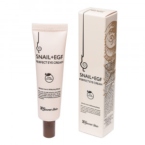 Крем для очей з муцином равлика Secret Skin Snail+EGF Perfect Eye Cream 30g